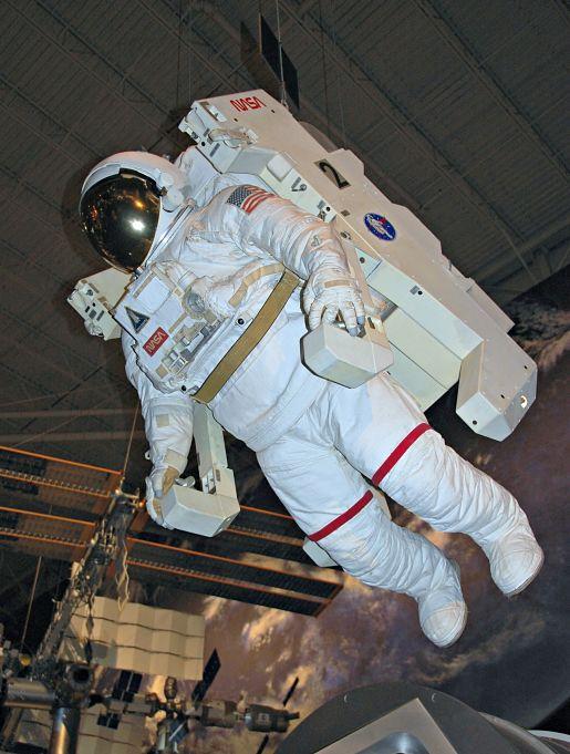 Astronaut Display